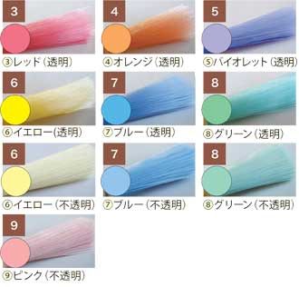 毛材 カラー610ナイロン